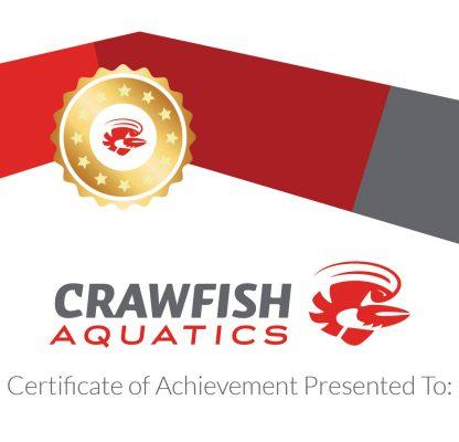 Crawfish Aquatics Certificate